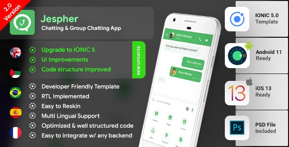 WHATSAPP APP CLONE SOURCE CODE - Private Chat Messaging Application