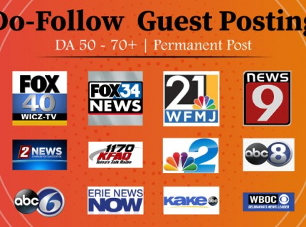 I will do premium guest posts on high authority site